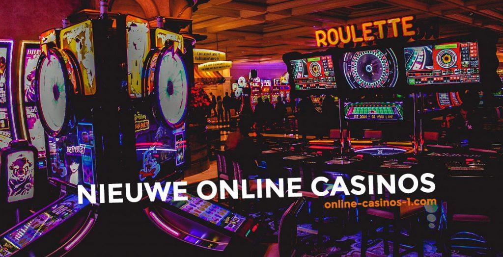 Nieuwe online casino vinden op online-casino-1.com